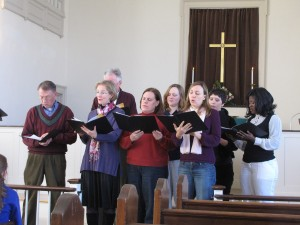 "Our ""Small but Mighty Choir"""