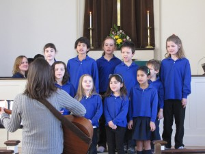 Youth Choir performing